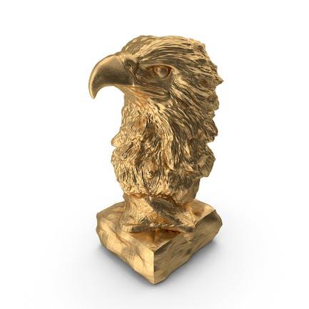 Statuette Goldadler