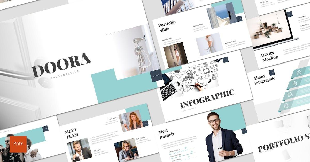 Download Doora - Powerpoint Template by inspirasign