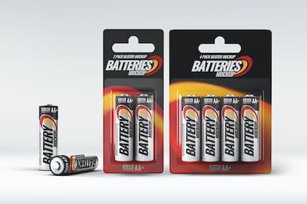 Battery Blister Pack Mock-Up