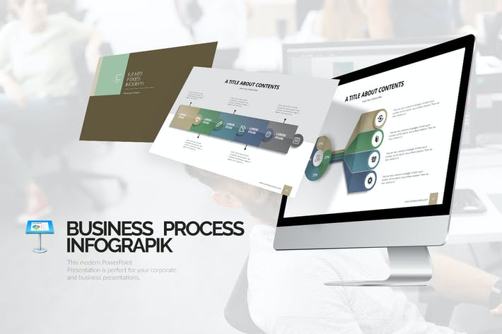 Thumbnail for Process Infograpik Templates (KEY)