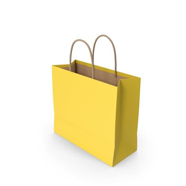 Бумажный мешок Желтый