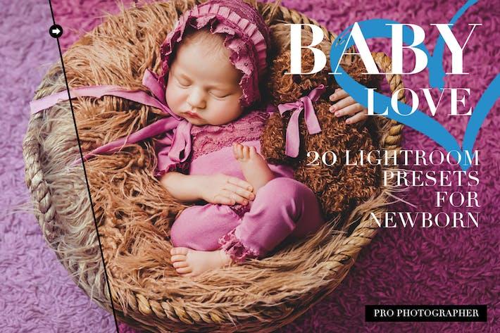 Thumbnail for Ajustes preestablecidos de Lightroom para recién nacidos
