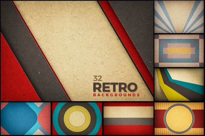 Retro Backgrounds