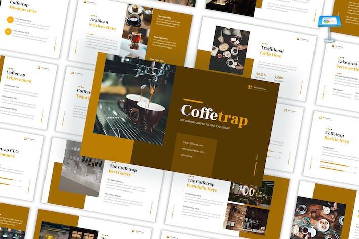 Coffetrap - Café Resto Keynote Template