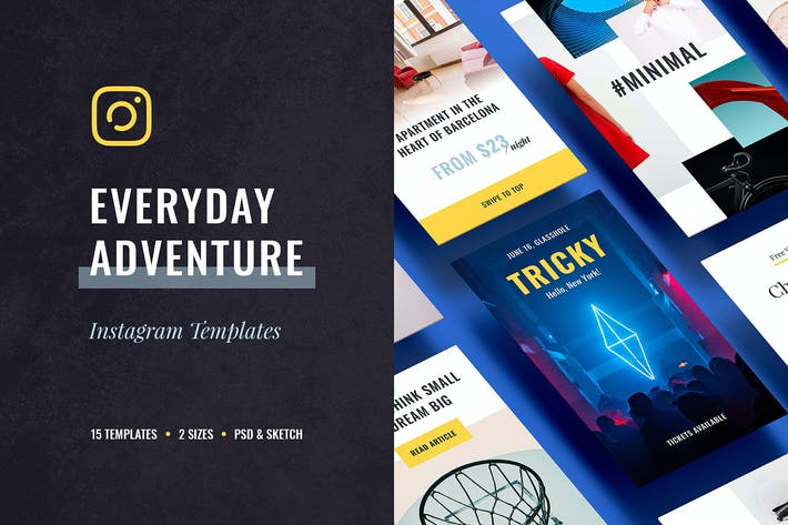 Cover Image For Everyday Instagram Templates