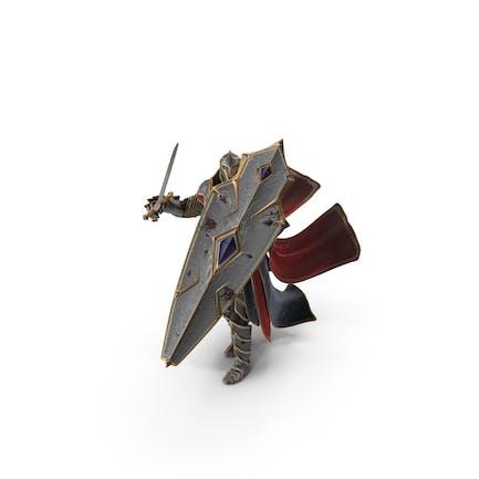 Fantasy Knight verteidigt sich von oben