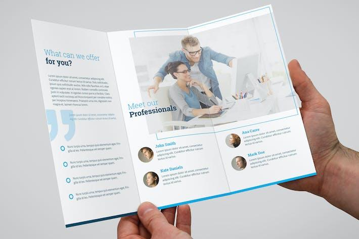Thumbnail for Miniminimal Brochure Tri-Fold