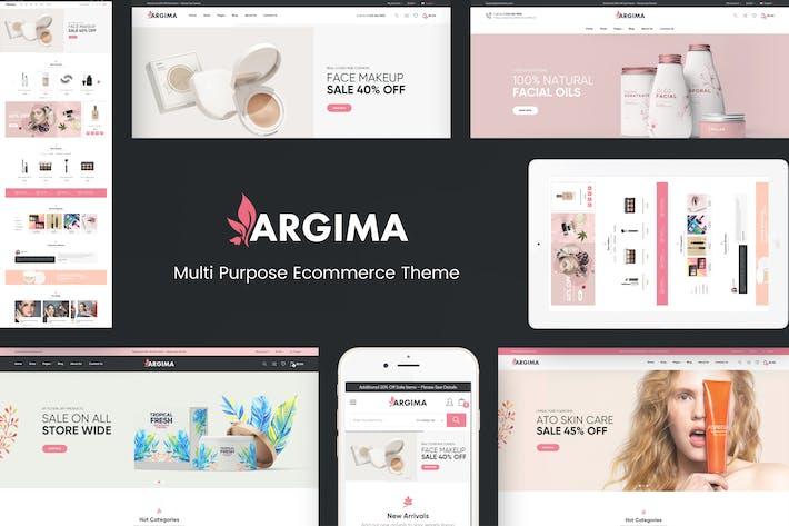 Thumbnail for Argima - Cosmétiques Resposive Prestashop Thème