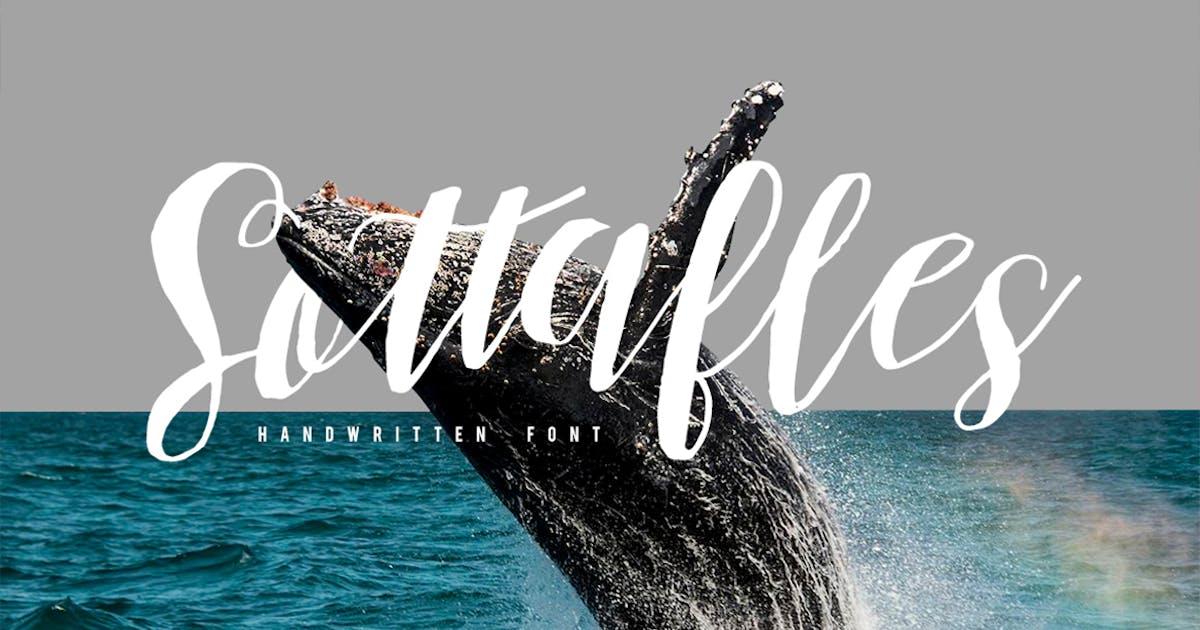 Download Sottafles Typeface by maulanacreative