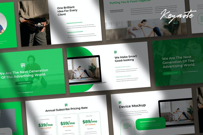 Thumbnail for Tokoo - eCommerce Keynote Template