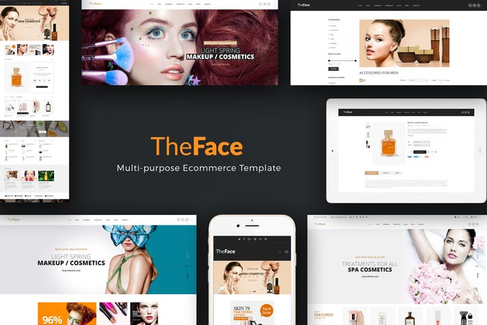 Thumbnail for TheFace - Responsive Opencart Theme