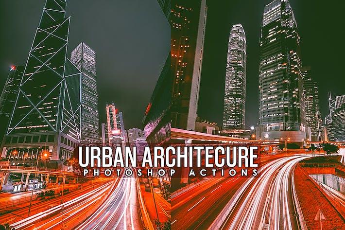 Thumbnail for Городская архитектура Действия Photoshop