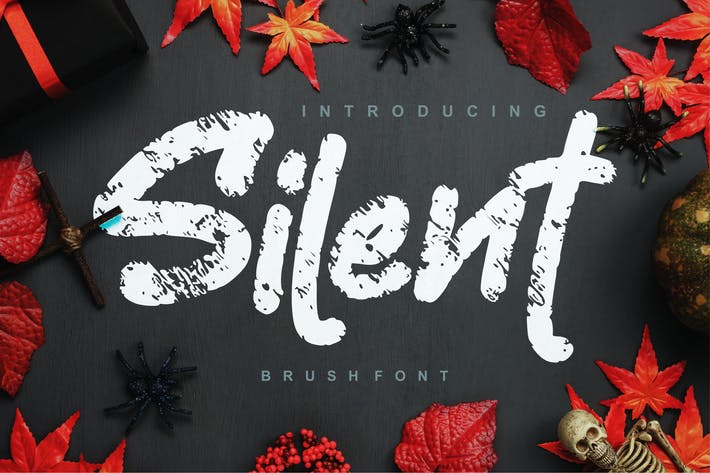 Thumbnail for Silent | Fuente de pincel decorativo