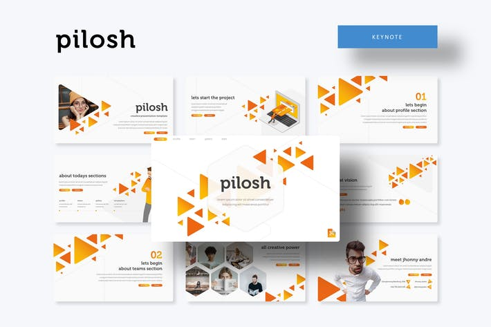 Thumbnail for Pilosh - Keynote Template