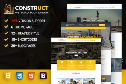 Construct : Construction, Building & Maintenance