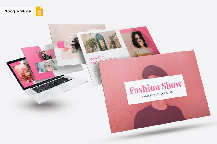Thumbnail for FASHION SHOW  - Google Slide Template V246