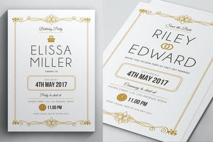 Simple Elegant Invitation
