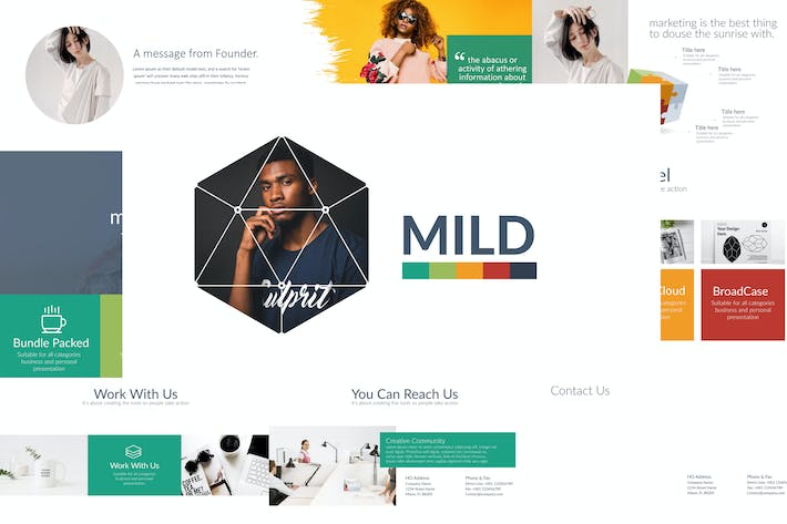 Thumbnail for MILD Powerpoint Template