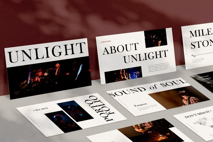 Cover Image For Unlight Keynote