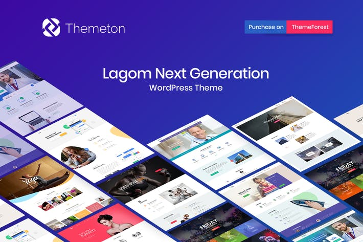 Thumbnail for Lagom - Multi Concept MultiPurpose WordPress Theme