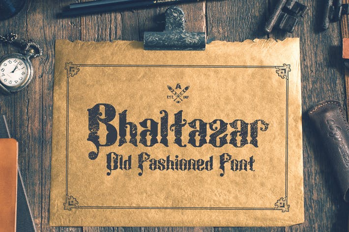 Thumbnail for Bhaltazar Typeface