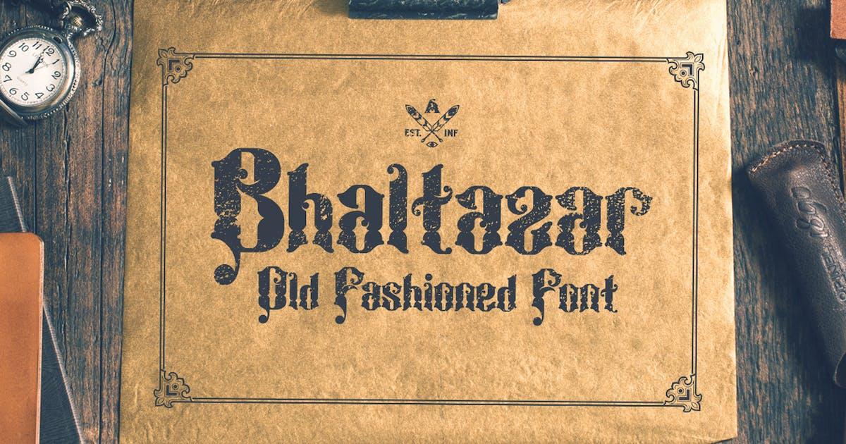 Download Bhaltazar Typeface by alterdecoinc