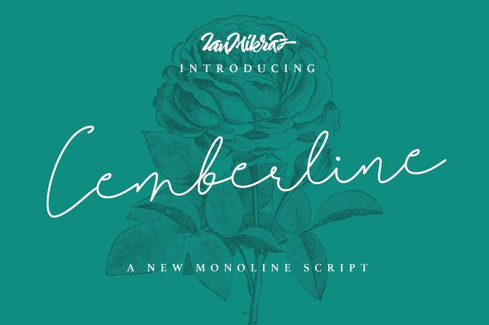 Thumbnail for Cemberline Typeface