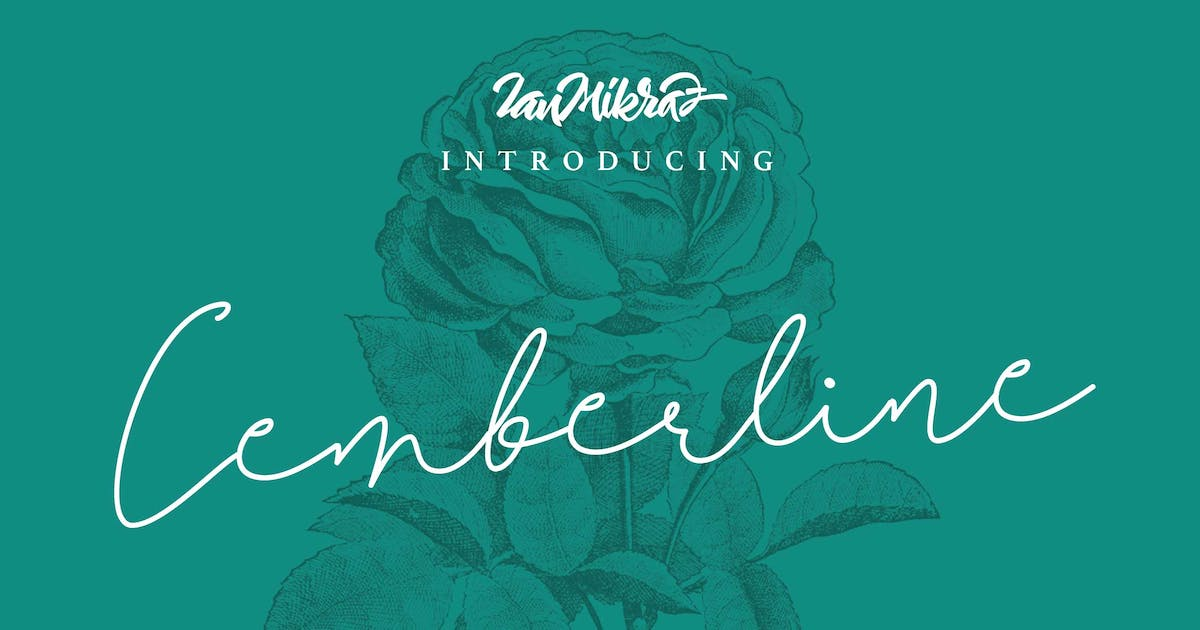 Download Cemberline Typeface by IanMikraz