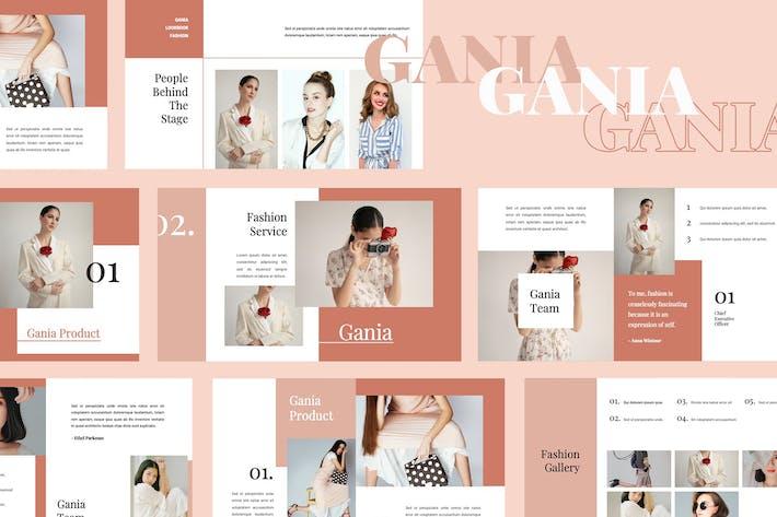 Thumbnail for Gania -  Powerpoint Presentation