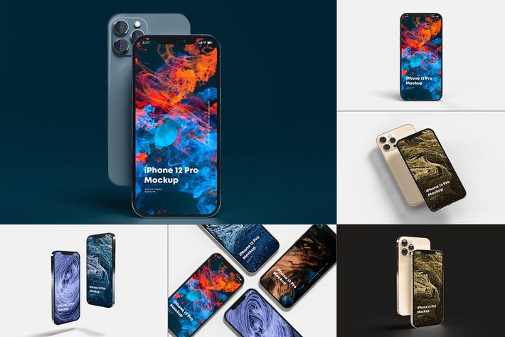 Thumbnail for iPhone 12 Pro Mock-up