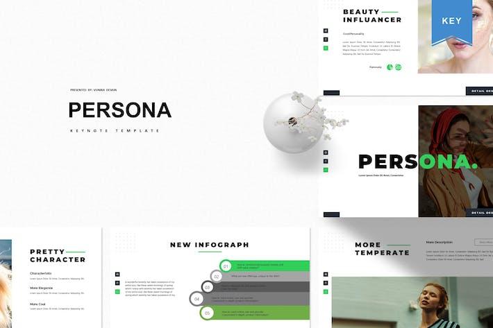 Persona | Keynote Template