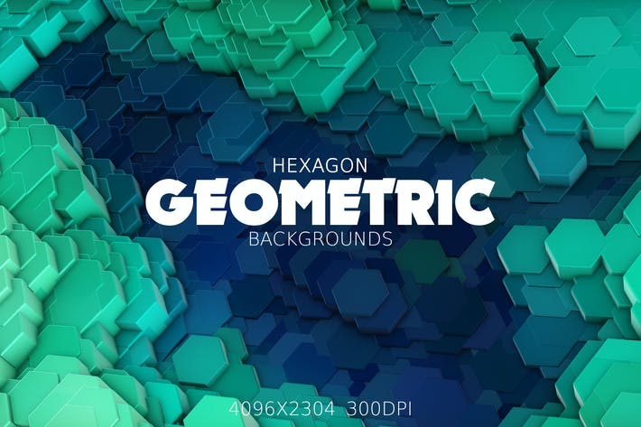 Thumbnail for Hexagon Geometric Backgrounds