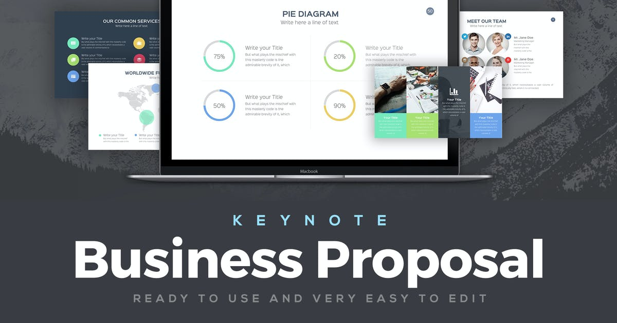 Download Business Proposal Keynote Template by Unknow