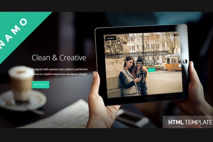Thumbnail for NAMO - Creative Multi-Purpose HTML5 Theme