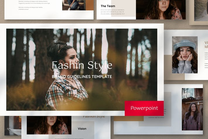 Thumbnail for Fashion Style - Presentation Template Powerpoint