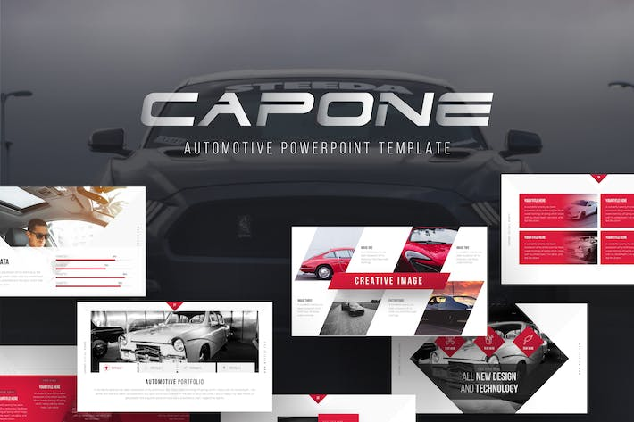 Thumbnail for Capone Automotive PowerPoint Template