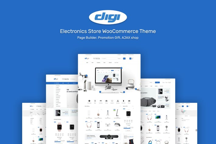Thumbnail for Digi - Electronics Theme for WordPress