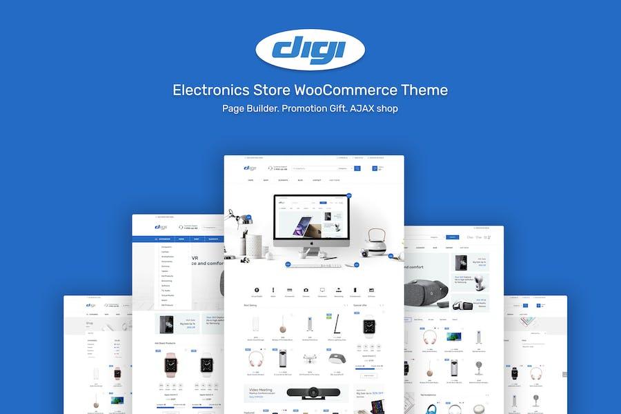 Digi - Electronics Theme for WordPress by NasaTheme on Envato Elements
