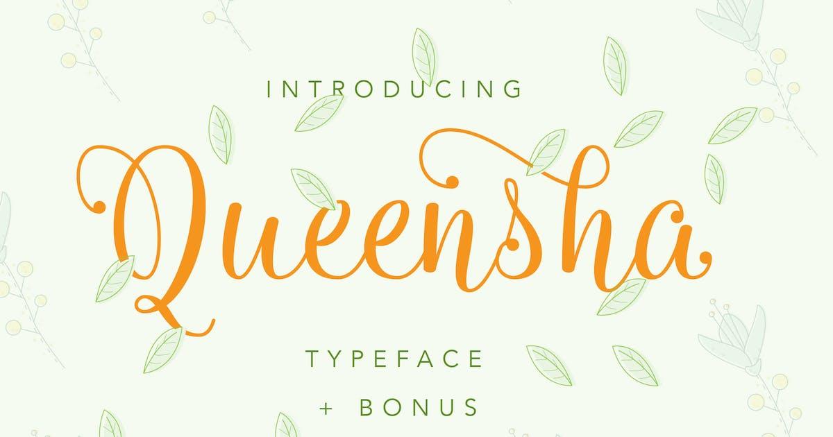 Download Queensha Typeface by IanMikraz