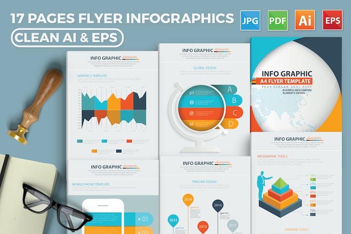 Thumbnail for 17 Страницы Info Дизайн графических элементов