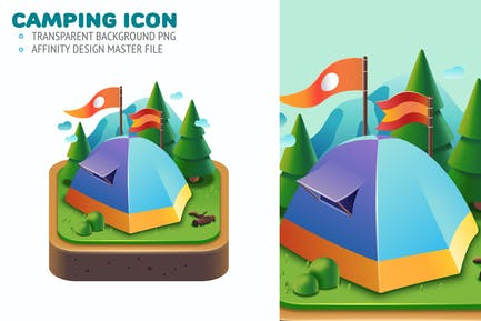 Camping Cute Graphic
