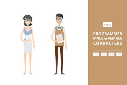 Programmer - Male & Female Characters Vol.22