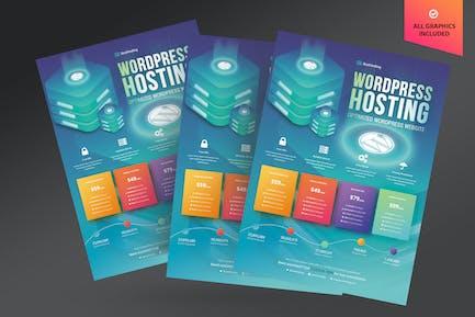 Wordpress Hosting Flyer