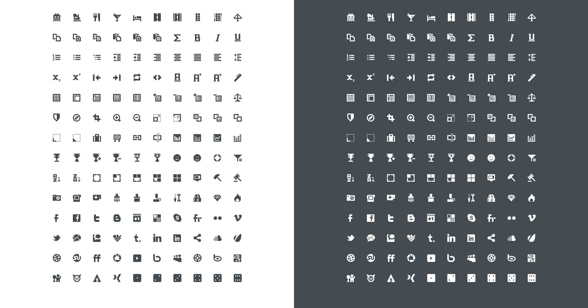 Download Pixel Perfect Mini Icons Vol. 3 by QuanticaLabs