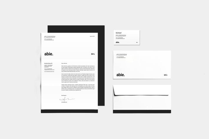Thumbnail for Stationery Template Identity