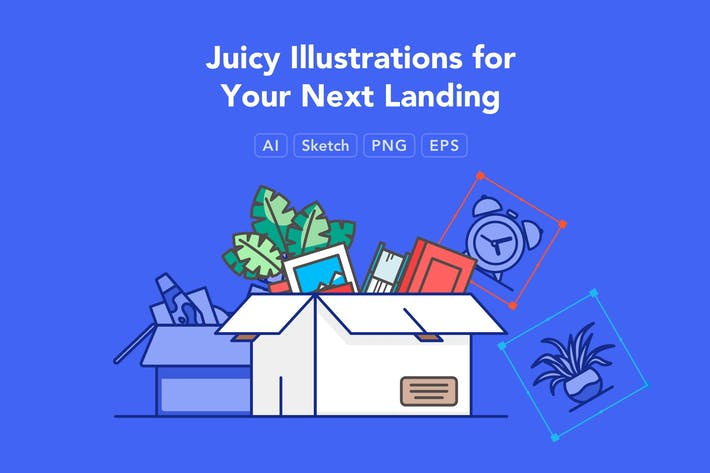 Thumbnail for Juicy Illustrations