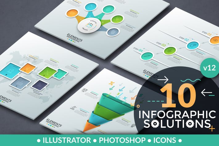 Thumbnail for Infographic Solutions. Part 12