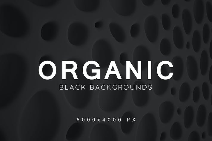 Thumbnail for Black Organic Backgrounds