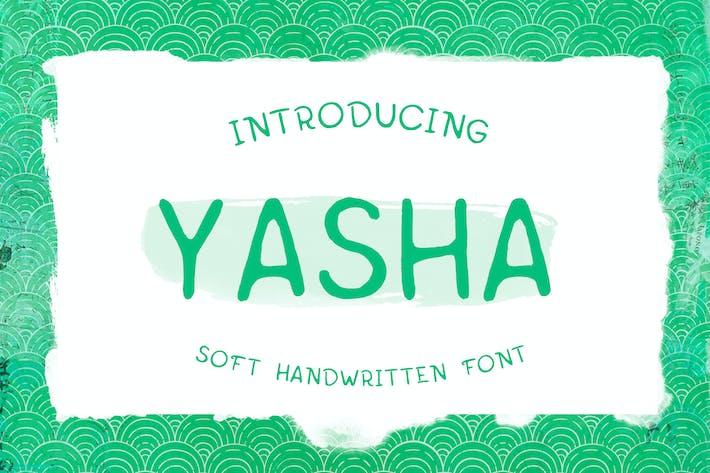 Thumbnail for Typographie Yasha