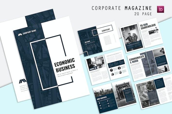 Tour Unternehmens- Broschüre